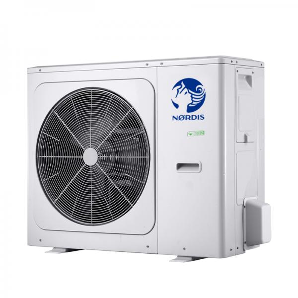 Теплові насоси повітря-вода NORDIS Optimus Pro з зовнішнім блоком резервуара для гарячої води